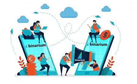 Cara Bergabung dengan Program Afiliasi di Binarium