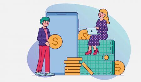 Come effettuare un deposito in Binarycent