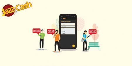 Setor Dana di Binomo melalui Transfer Bank Pakistan (SMS Easypaisa, SMS Jazz Cash)