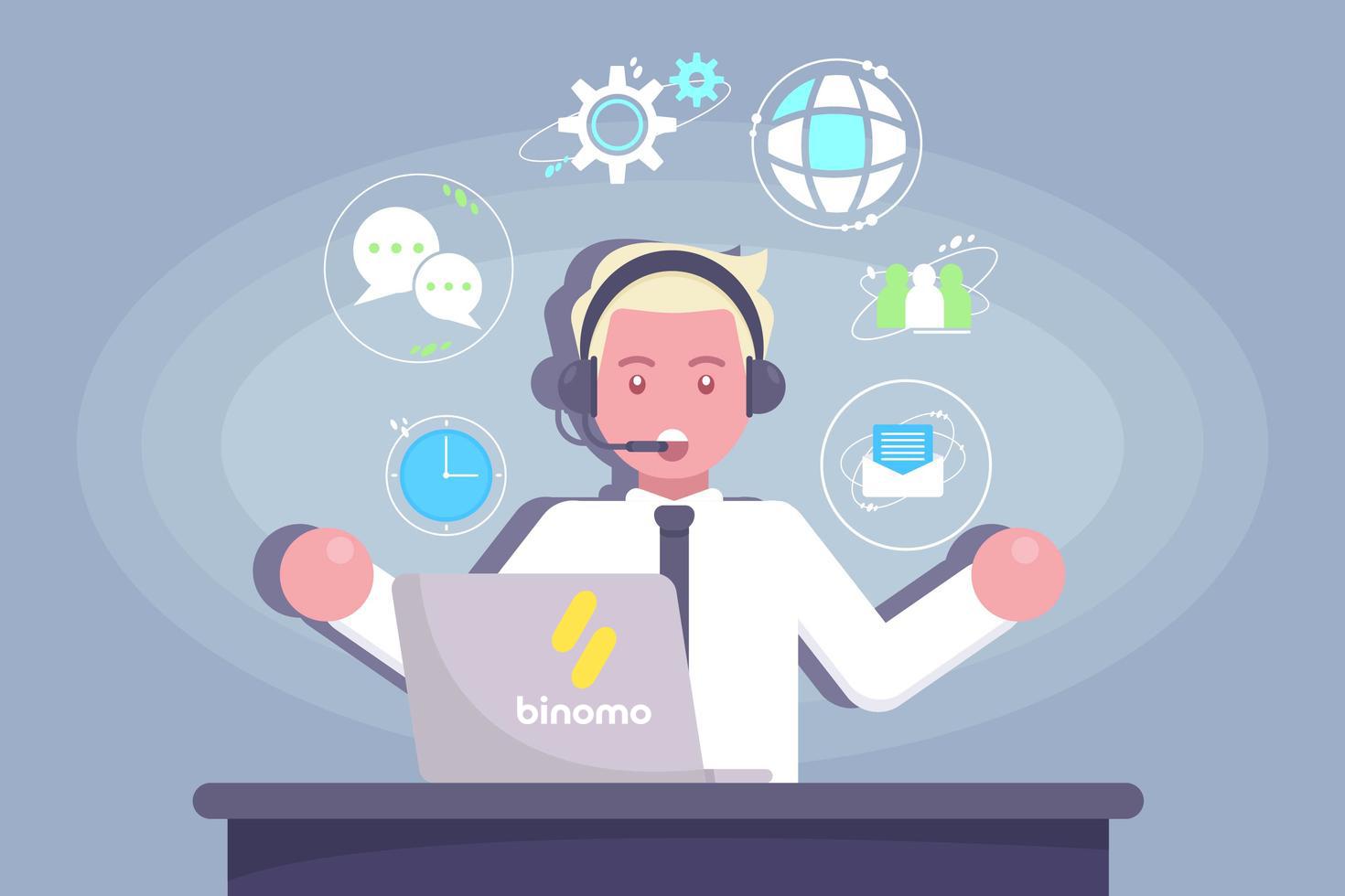 Cara Menghubungi Dukungan Binomo
