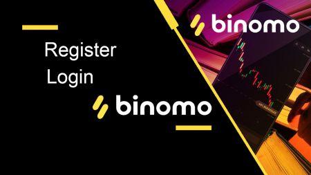 So registrieren Sie sich und melden sich bei Binomo an