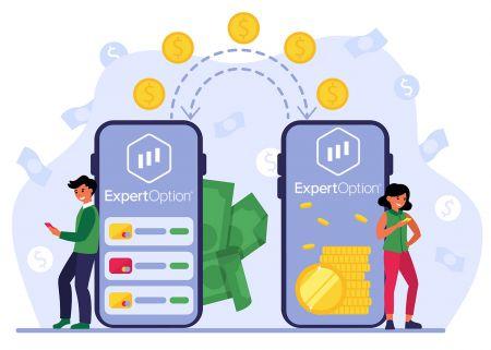 Wie man Geld in ExpertOption einzahlt