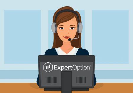 So kontaktieren Sie den ExpertOption-Support