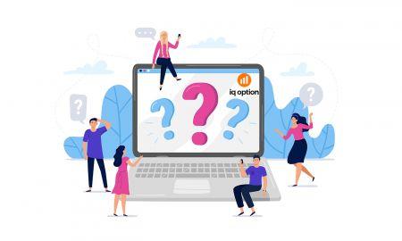 Häufig gestellte Fragen (FAQ) zu Konten, Verifizierung in IQ Option