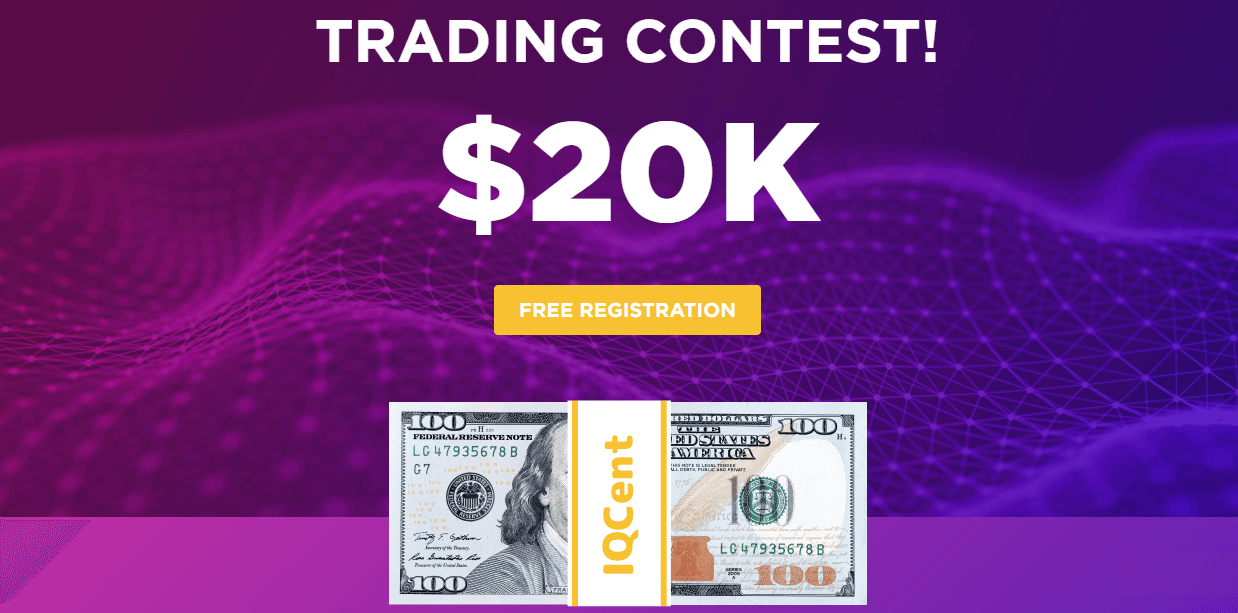 IQcent Trading Contest - Up to $20,000 Prize Fund