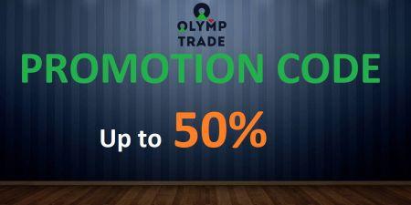 Codice promozionale Olymp Trade - Bonus fino al 50%