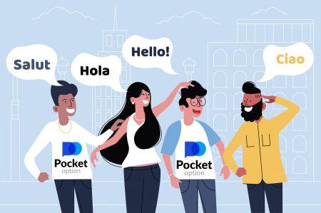 Mehrsprachige Unterstützung für Pocket Option
