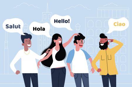Quotex Supporto multilingue