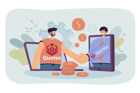 So treten Sie dem Partnerprogramm bei und werden Partner bei Quotex
