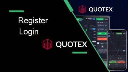 So registrieren Sie sich und melden sich bei Quotex an