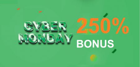 Raceoption CYBER MONDAY Promotion - Bonus Deposit 250%