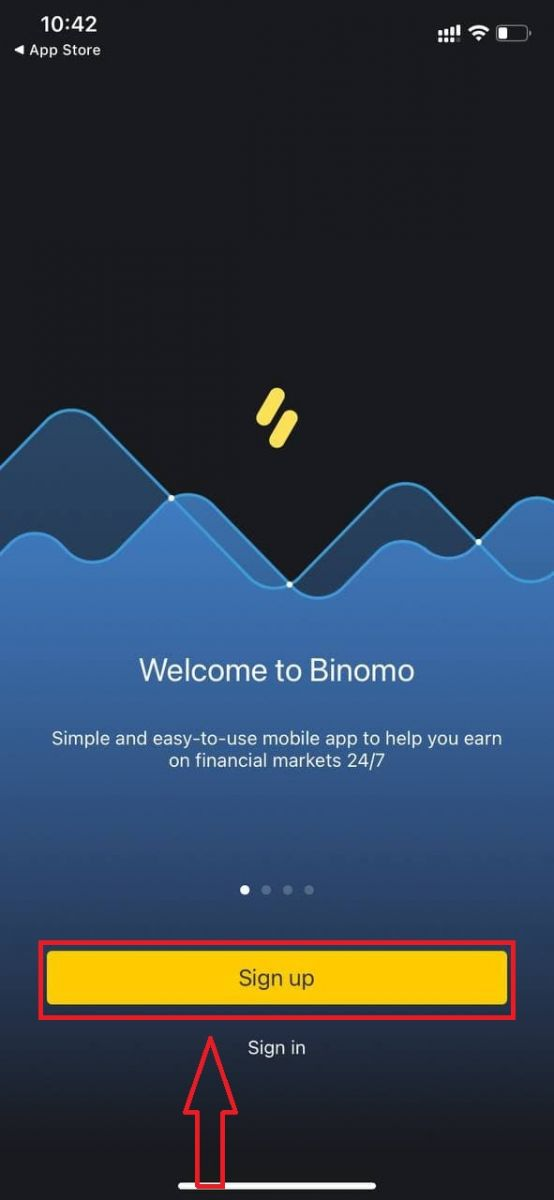 How to Register and Trade CFD at Binomo