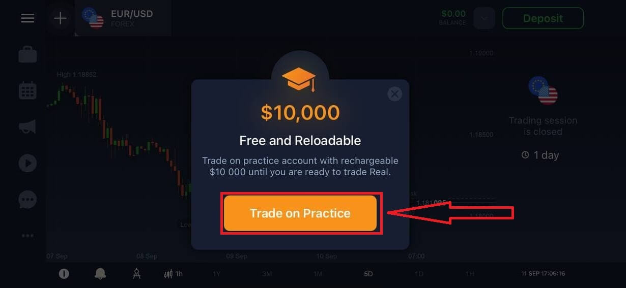 How to Register and Start Trading with a Demo Account in IQ Option
