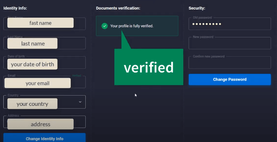 How to Verify Account in Quotex